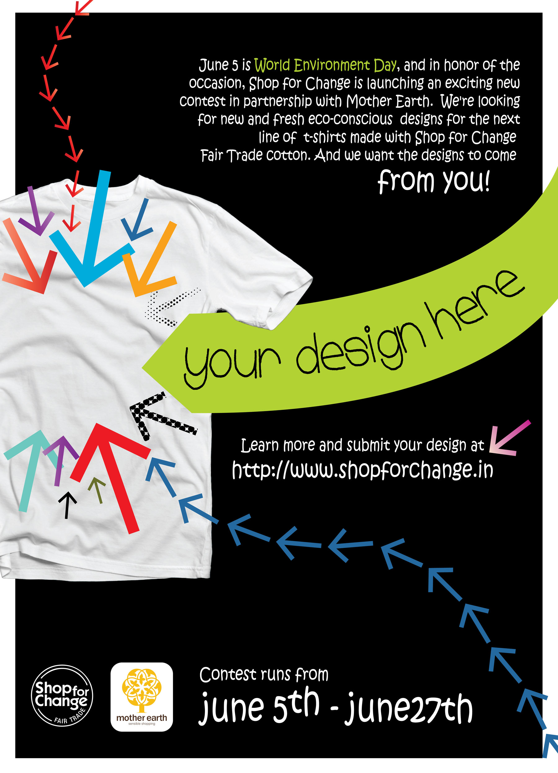 T shirt poster design - T Shirt Poster Design In