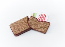 Jute Visiting Card Holder