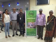 WNS Global CEO Keshav Murugesh along with his wife Shamini Murugesh